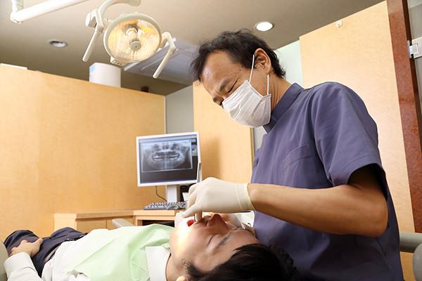 歯を守ることに全力を尽くします